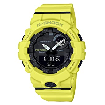 G Shock Men S Gba800 9a Yellow One Size