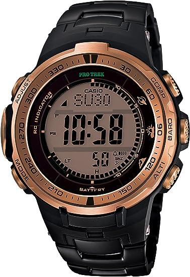 [カシオ] 腕時計 プロトレック Black Titan Limited Series トリプルセンサーVer.3搭載 世界6局電波対応ソーラーアウトドアギア PRW-3000YT-5JF ブラック