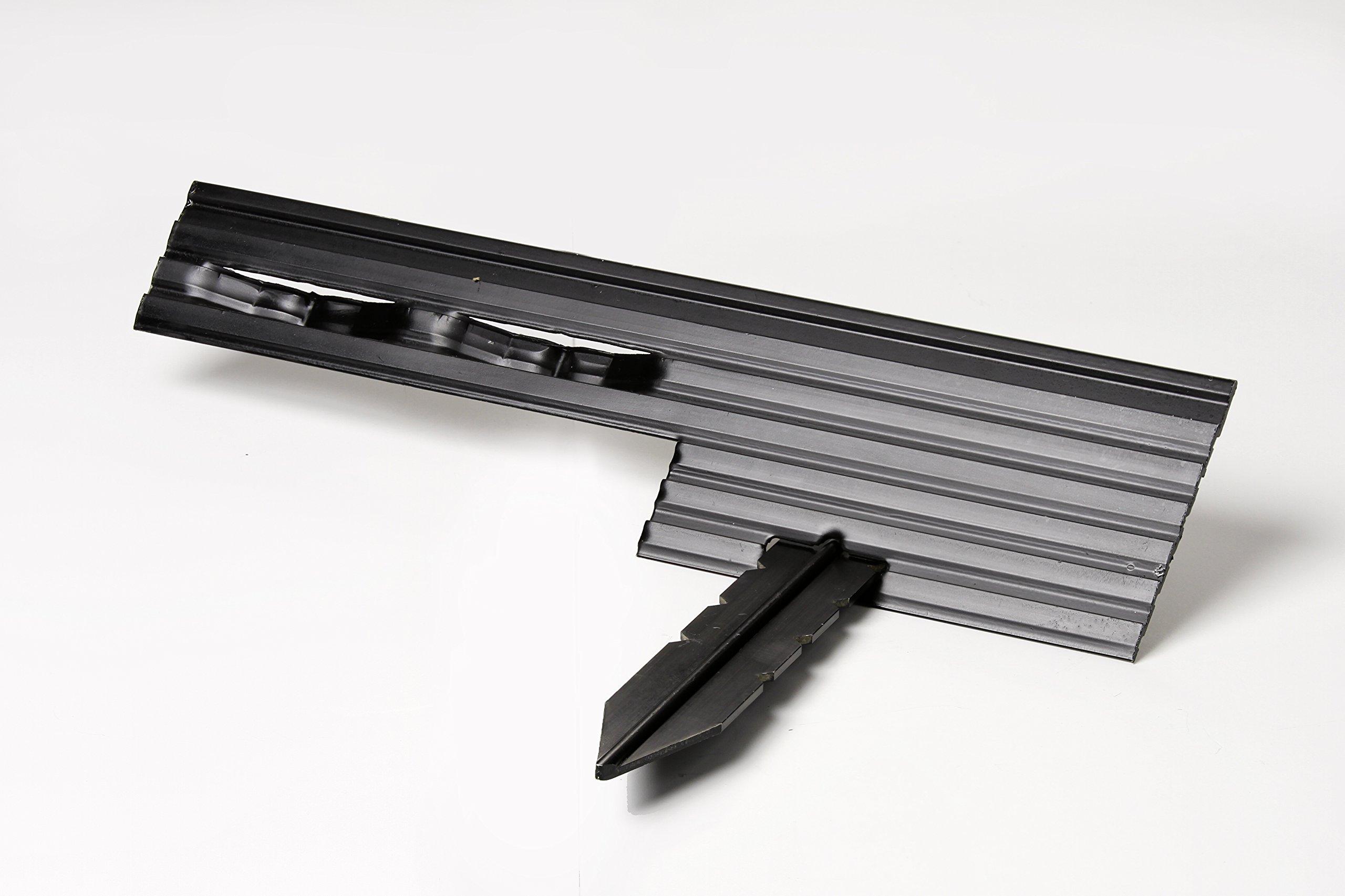 PRO Aluminum Landscape Edging - 1/8'' X 4'' X 8' (120' per box) - Mill Finish by Sure-Loc (Image #3)