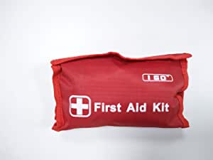 I Go Mini First Aid Kit -89 Pieces Compact Small Kit for Hiking Camping Home and Outdoors