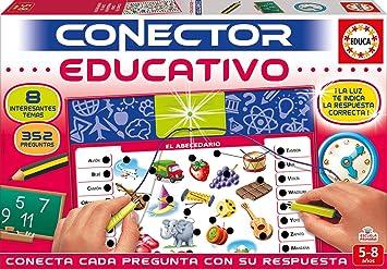 Educa Borrás- Conector 8 Temas de la Escuela, Juego Educativo para ...