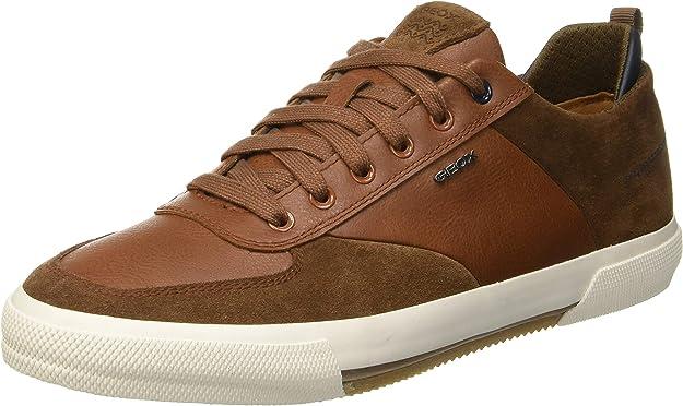 Geox U Kaven A Sneaker Herren Braun