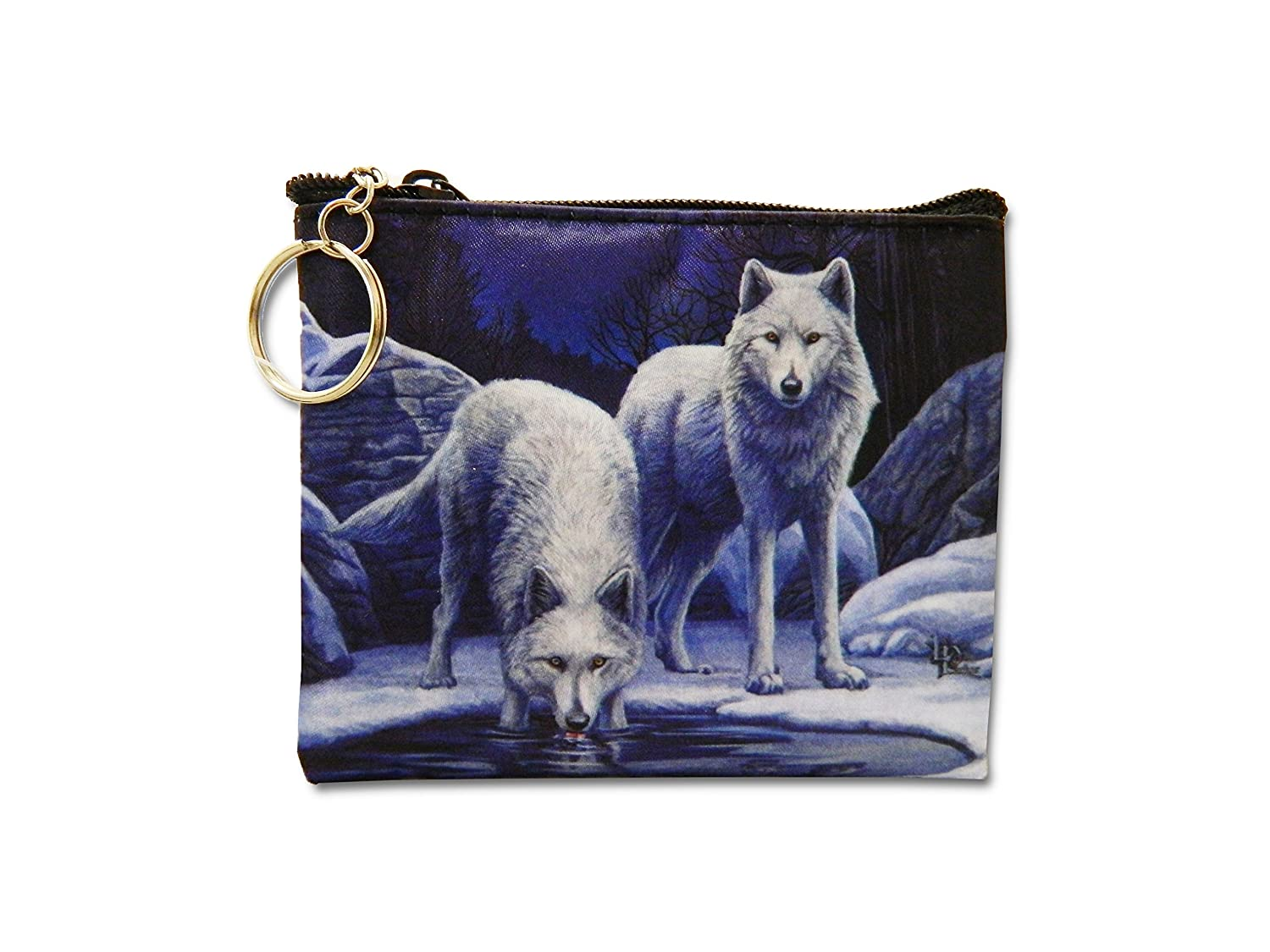 Amazon.com: Lisa Parker llavero cartera – Warriors de lobo ...