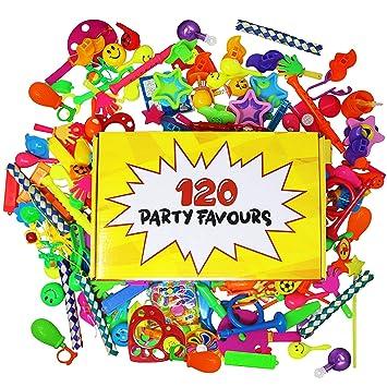 THE TWIDDLERS 120 Juguetes Granel Gran Surtido | Perfecto para los Regalos | Piñatas Relleno | Premios cumpleaños niños | Llenadores de Bolsas para ...