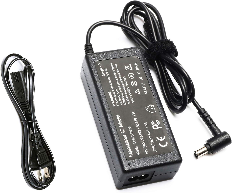 14V AC/DC Adapter Charger for Samsung LTM1555B LTM1555X LTM1755X LTM1775W ; Samsung SyncMaster 20