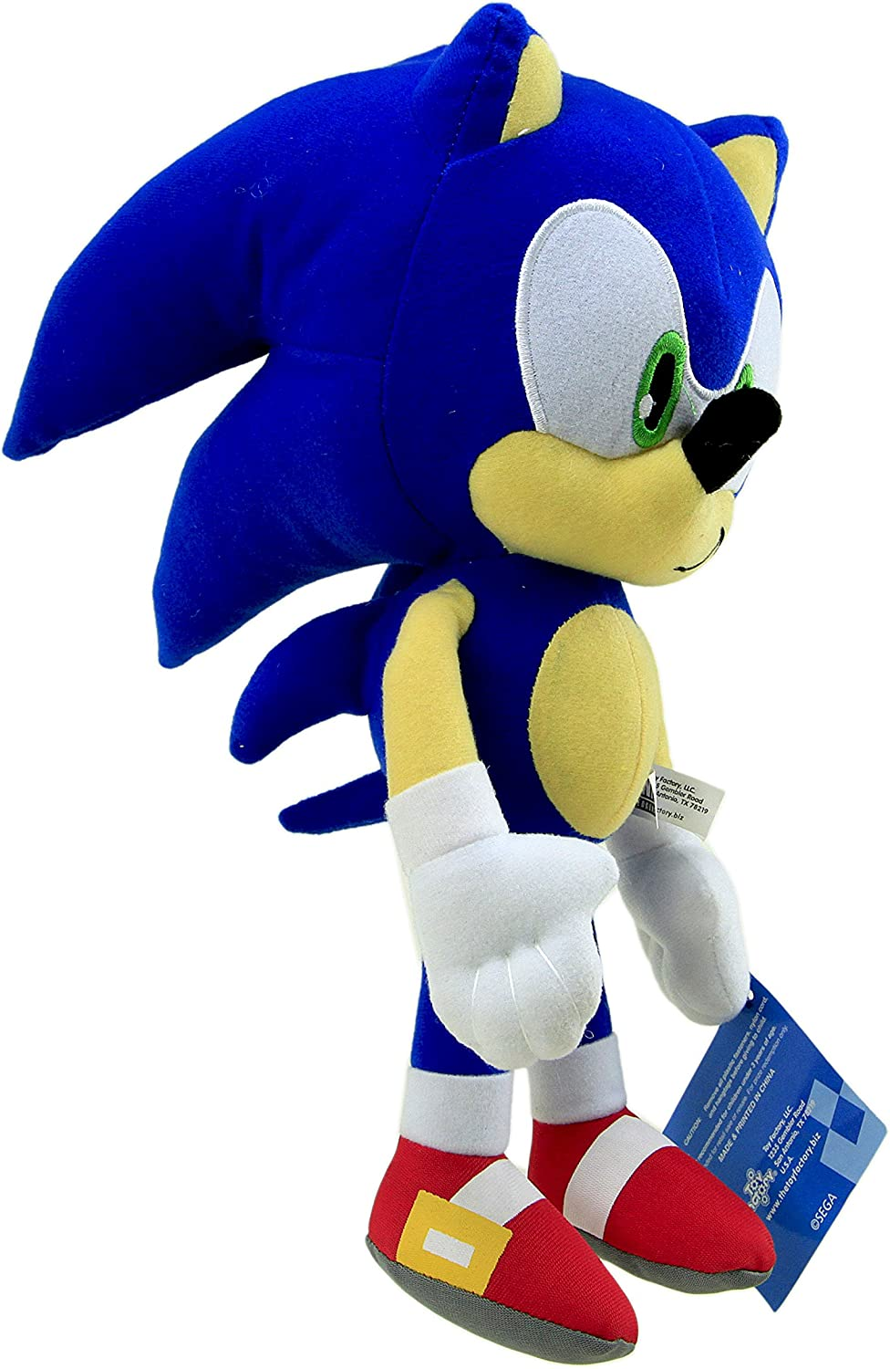 Amazon Com Sonic The Hedgehog Tomy Blue 11 Inch Plush Doll Stuffed Figure Toy 3 Usa Seller Everything Else
