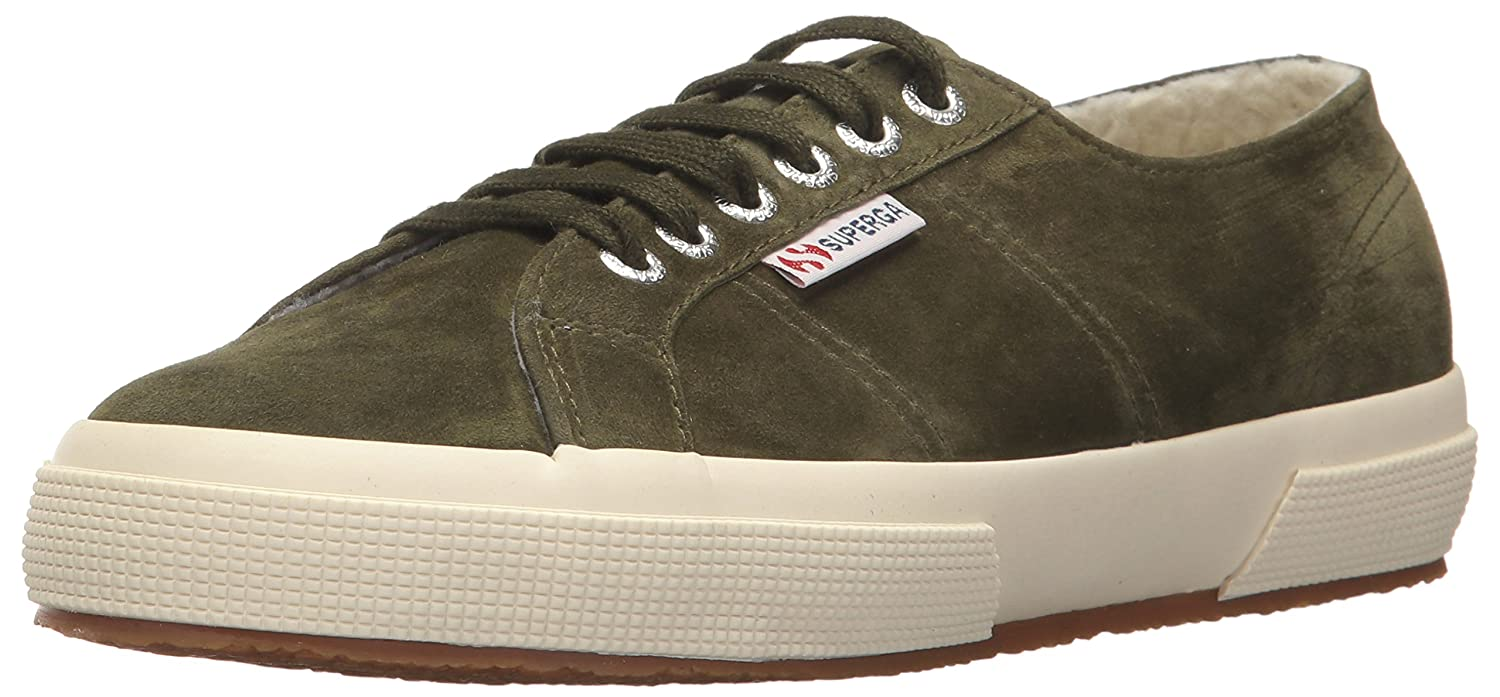 Superga Women's 2750 Kidsuew Fashion Sneaker B072JKKN12 41 EU/9.5 M US|Military