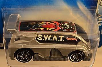 Hot Wheels Hyperliner Gray #208 HW Roll Patrol Series 1:64 Scale Collectible Die Cast Model Car