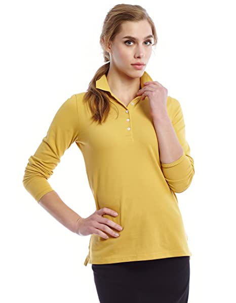 Donatella Women s Cotton Polo Shirt 1affe2993
