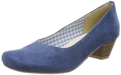 3005706, Zapatos de Tacón con Punta Cerrada para Mujer, Beige (Taupe), 37 EU Hirschkogel