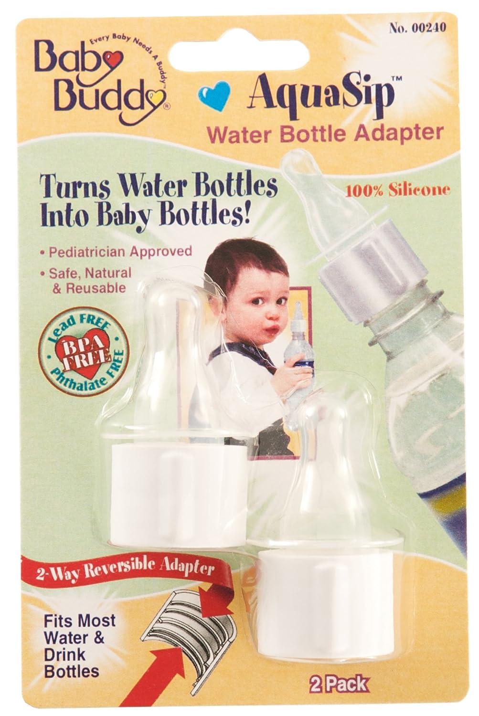 Baby Buddy 00240 AquaSip水ボトルアダプタ、2カウント   B00FN31F94