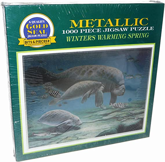 Gold Seal Jigsaw Puzzle 1000 Pieces