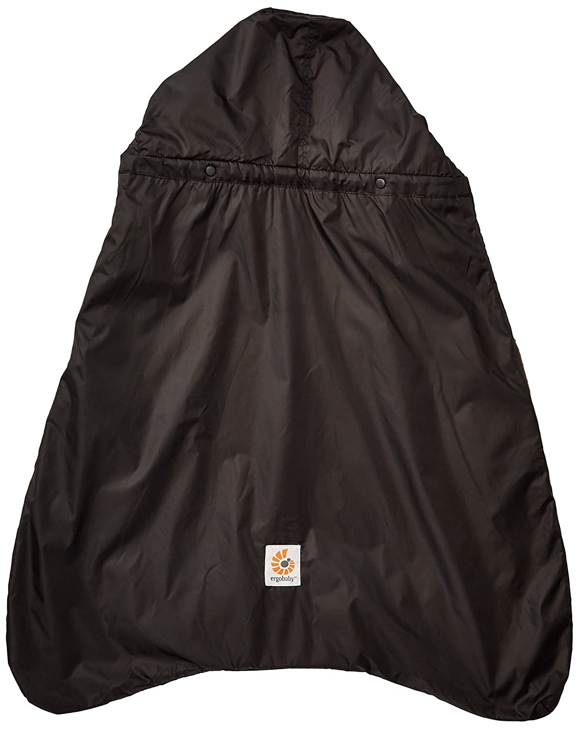 Isolated Rain Cover with Fleece Lining black ERGObaby Winter Weather and Rain Cover for Baby Carrier Waterproof