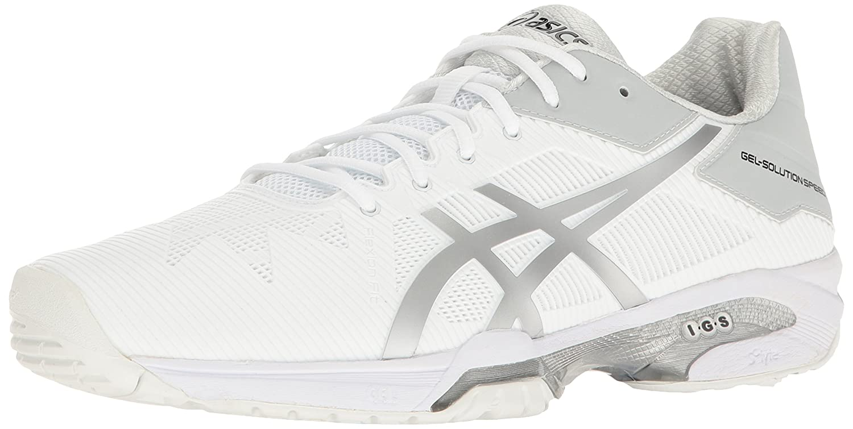 Asics Gel Solution Speed 3 Men's Tennis Shoes Mid GreyBlack