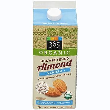 365 Everyday Value, Organic Almondmilk Unsweetened Vanilla