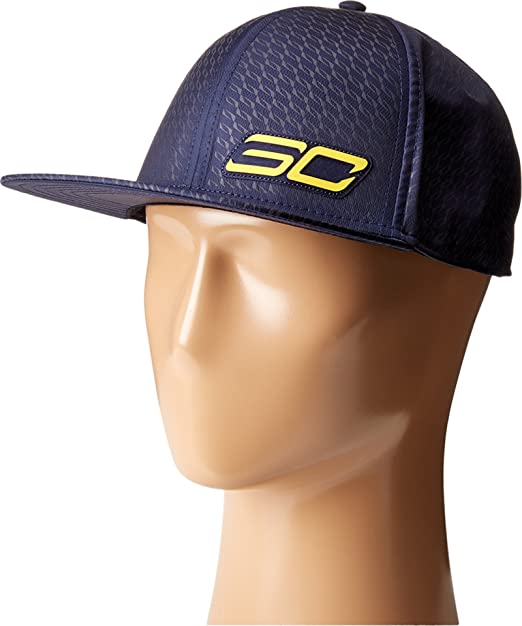 0acb62c5347 Amazon.com  Under Armour Men s UA SC 30 Essentials Snapback Cap Winged  Midnight Navy Royal Taxi Hat  Sports   Outdoors