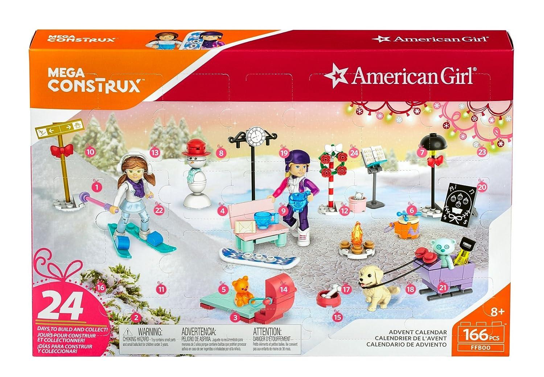 Amazon Com Mega Construx American Girl Advent Calendar Construction