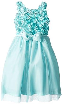 8e52d09c8f Amazon.com  Jayne Copeland Big Girls  Soutache Dress with Mesh