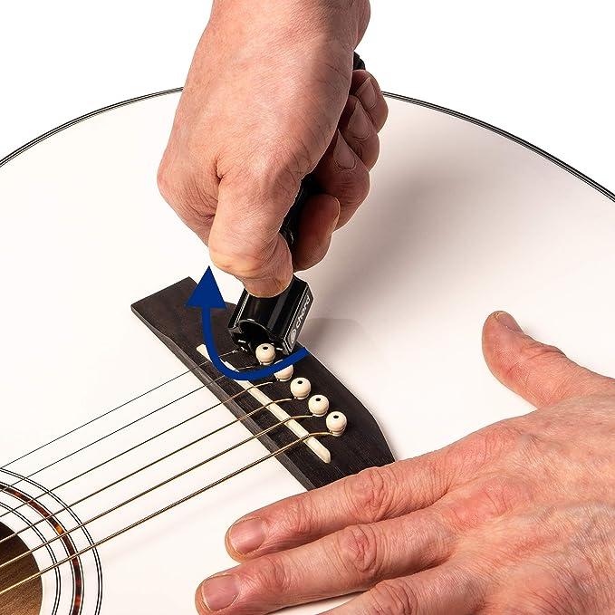 Metallor Multifunction Guitar String Winder Bridge Pin Remover ...