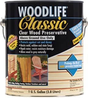 Rust Oleum 00903 Woodlife Classic, 1 Gallon, Clear