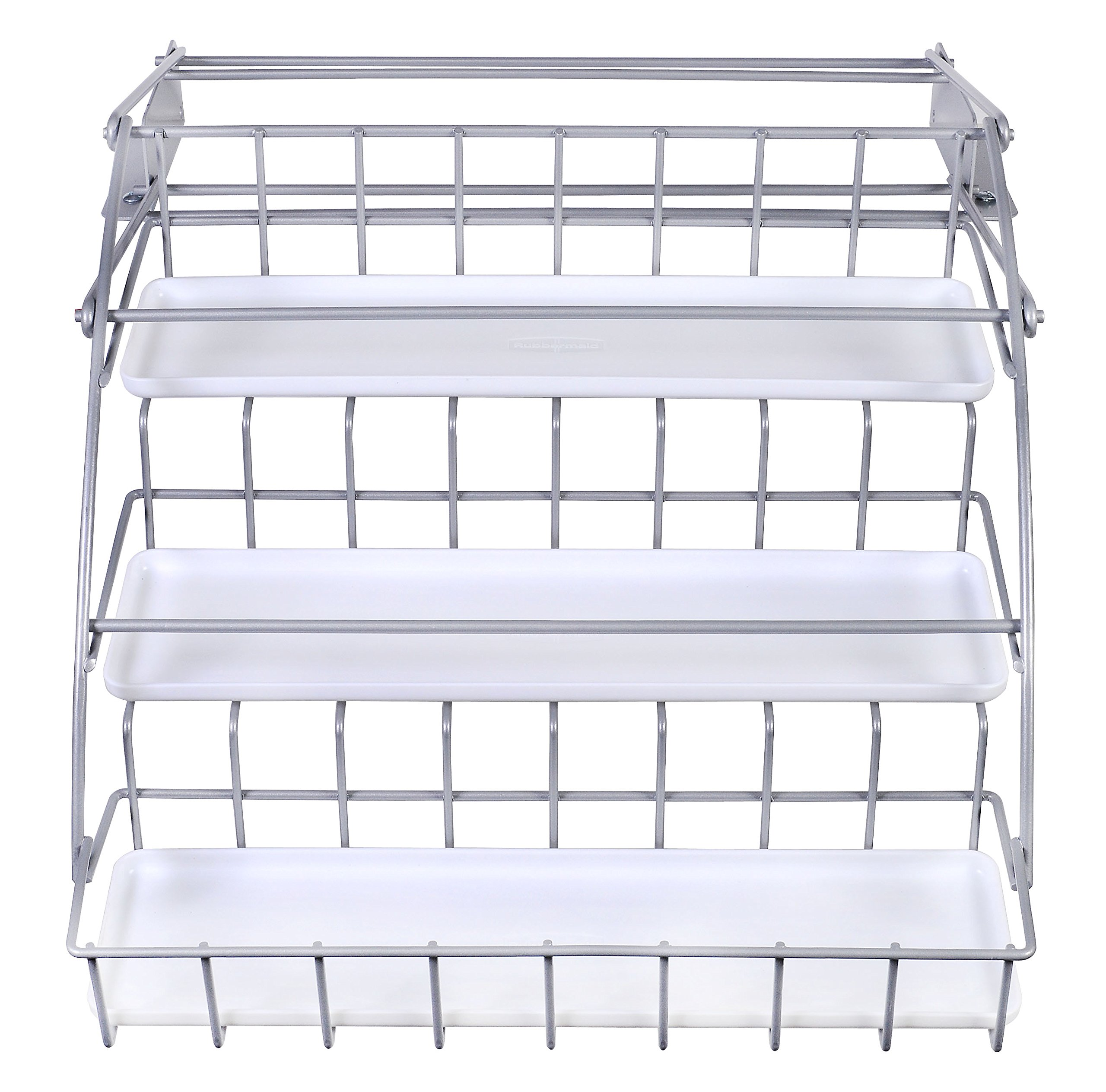 Rubbermaid Pull Down Spice Rack, Clear 1951590 by Rubbermaid