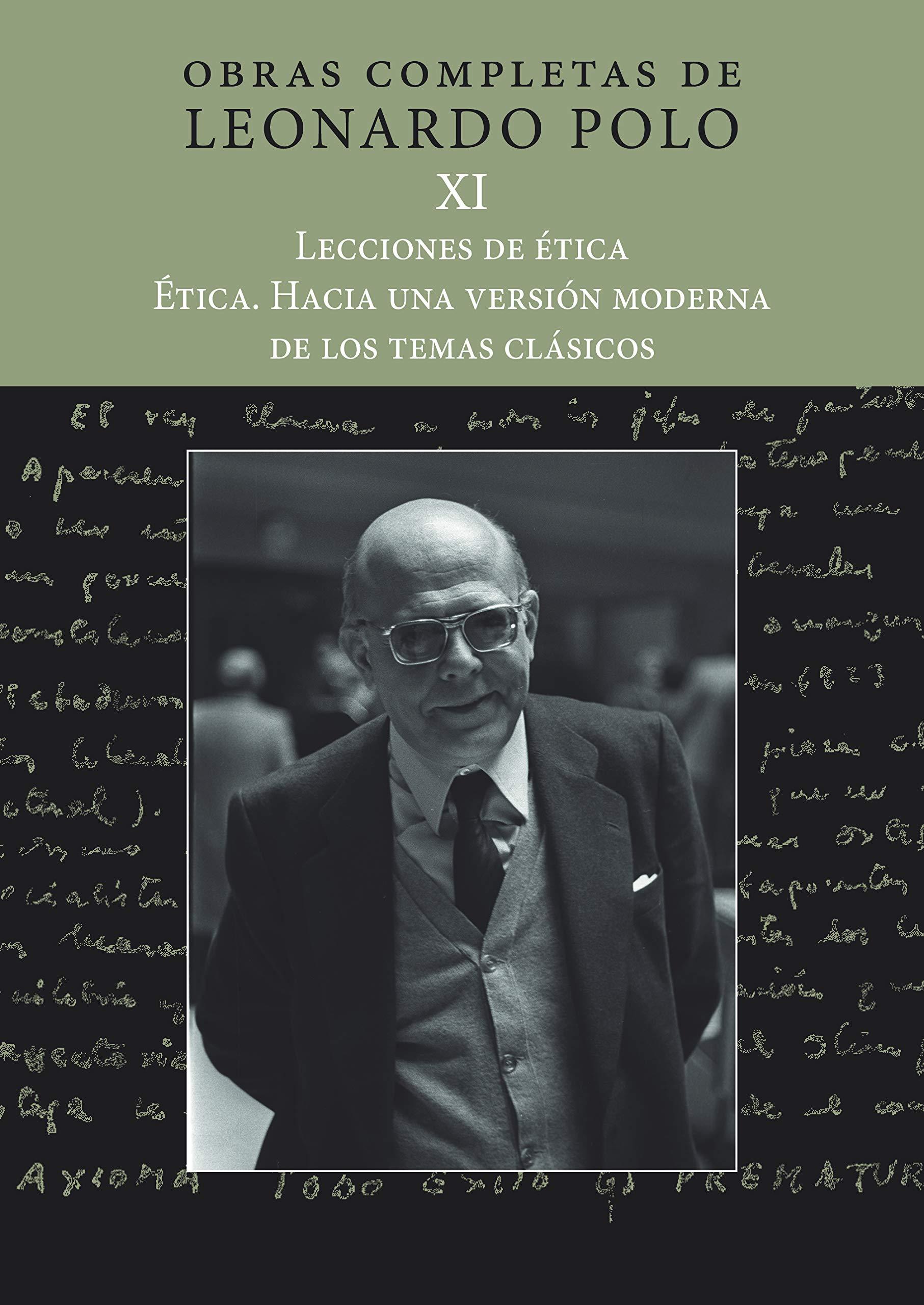 OBRAS COMPLETAS DE LEONARDO POLO XI: Obras Completas de Leonardo ...