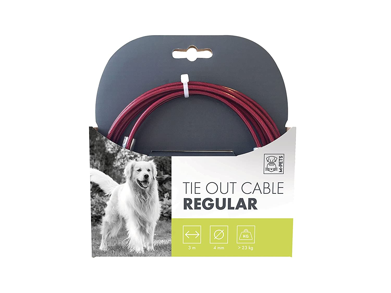 MPETS Câble d'Attache Regular pour Chien - Lot de 3 10800499