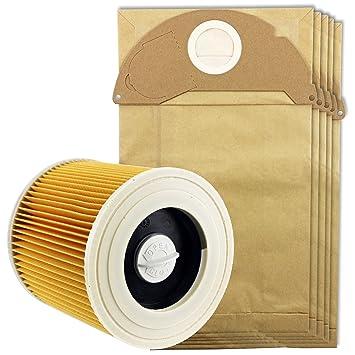 Spares2go bolsas de aspiradora y filtro de cartucho para ...