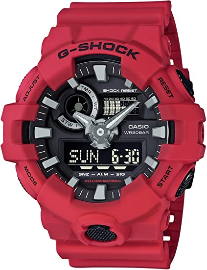 Casio Mens G Shock Quartz Resin Casual Watch