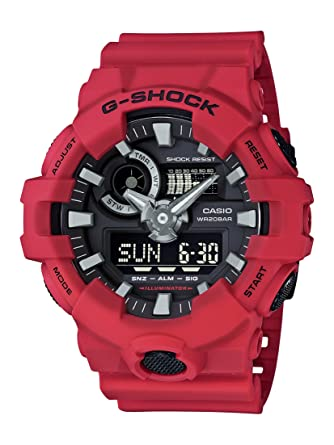 9150d6bd5f6 Amazon.com  Casio Men s G Shock Quartz Watch with Resin Strap