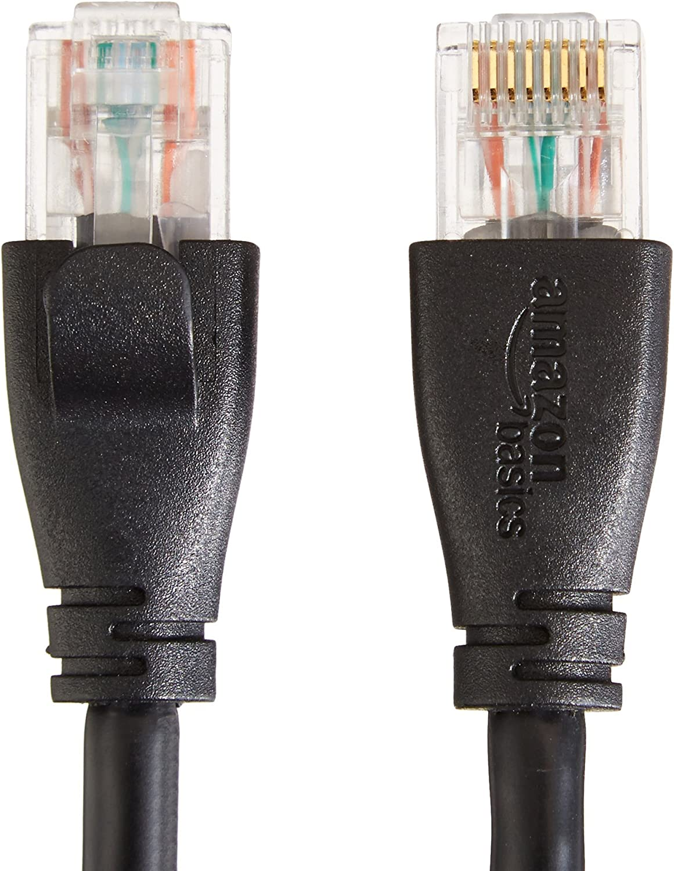 50 Feet 15.2 Meters Basics RJ45/Cat-6/Ethernet/Patch/Internet Cable/