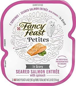 Purina Fancy Feast Petities Adult Gourmet Single Serve Break Apart Wet Cat Food