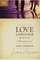 The One Year Love Language Minute Devotional (The One Year Signature Series) Paperback