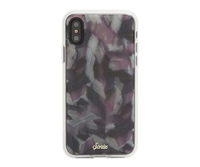 """buy popular 3f750 e63a3 iPhone Xs, iPhone X, Sonix Pink TORT Cell Phone Case [Military Drop Test  Certified] SONIX Luxe Tortoise Shell Case for Apple (5.8"""") iPhone X, iPhone  ..."""