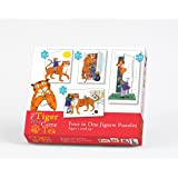 Paul Lamond Tiger Who Came to Tea 4-in-1 Puzzle