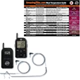 Grill Grate ET732 bbq smoker meat thermometer with Original Magnet