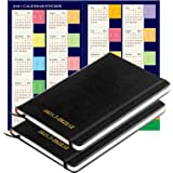 """2021-2022 Monthly Planner: Yearly Monthly Weekly Planner, Planner Notebook, Jul. 2021 - Dec. 2022, Thick Paper, 2-Pack(5.3"""" x"""