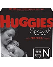 Huggies Special Delivery Hypoallergenic Baby Diapers, Size Newborn (up To 10 Lbs.), Giga Jr. Pack 66 Count