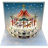 Christmas Carousel Pop-up Card