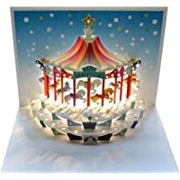 Christmas Carousel Pop-up Card by Forever Cards