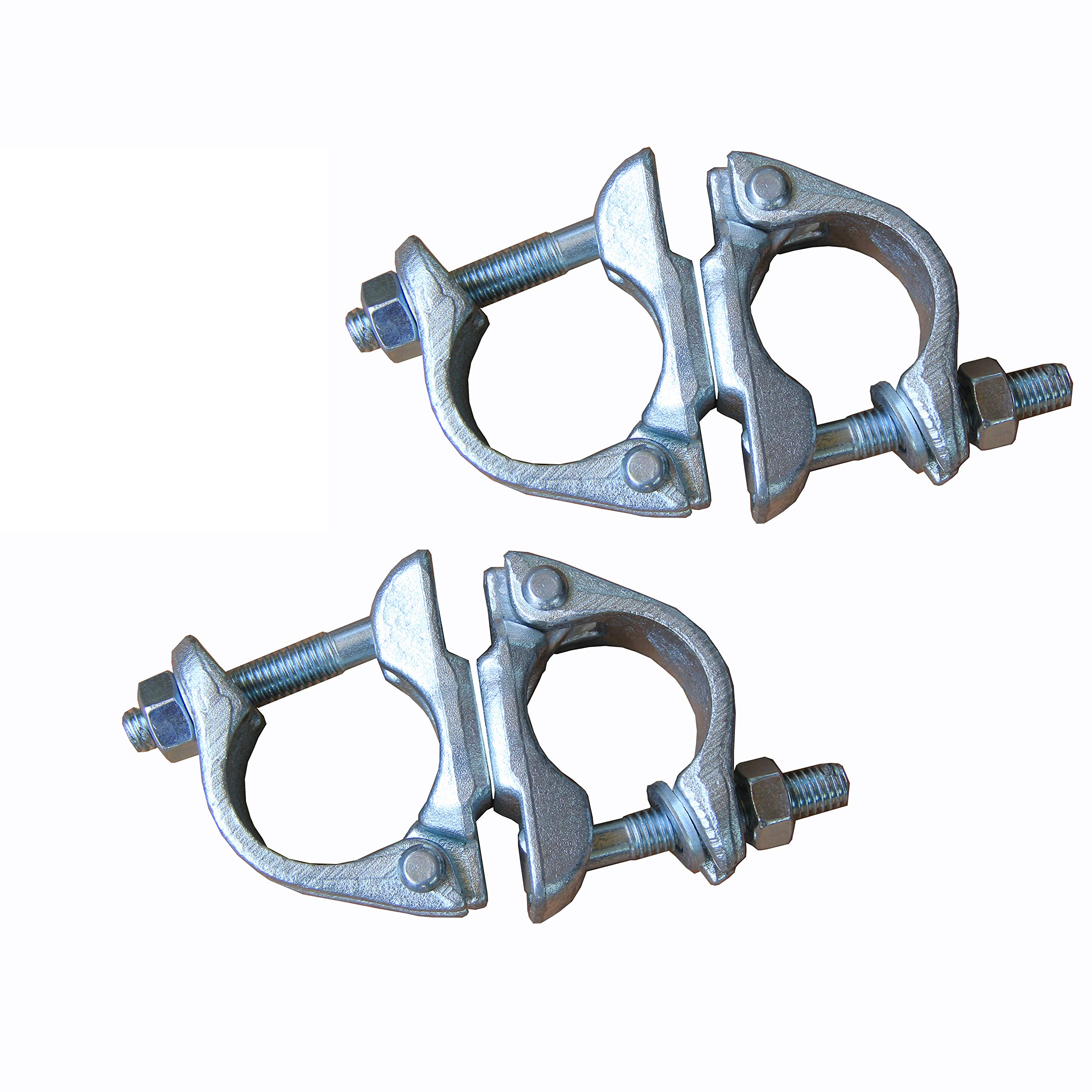 Swivel Scaffolding Clamps British Type 2 pcs Brand New Prisms by prisms