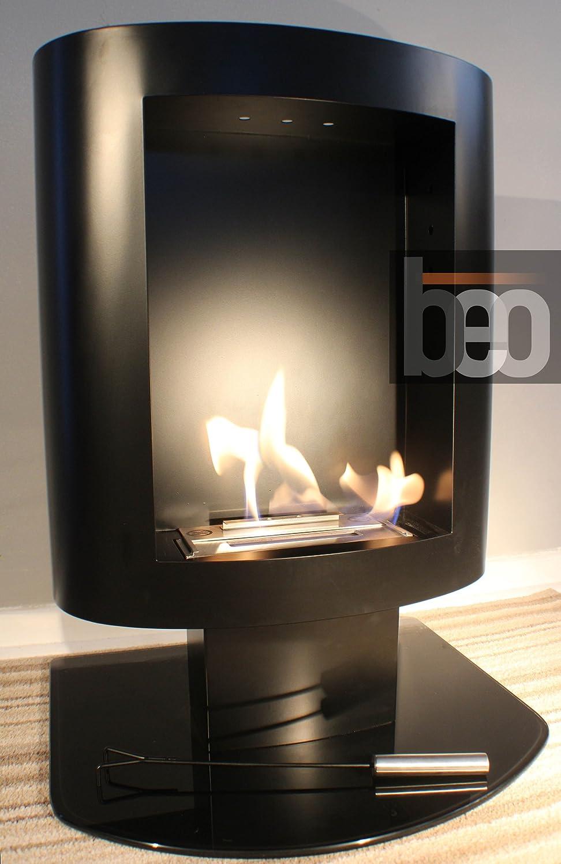 beofires u0027beo classic black u0027 premium bioethanol flueless fireplace