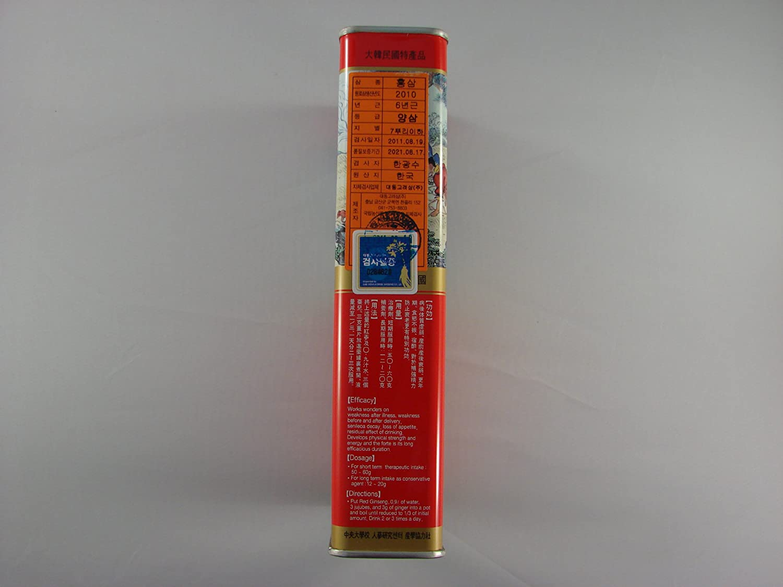Amazon.com: coreano El ginseng rojo Root (6yr 150 g good20 ...