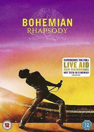 Bohemian Rhapsody [DVD] [2018]: Amazon co uk: Mike Myers, Rami Malek