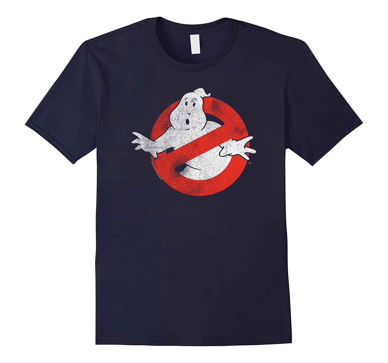 Ghostbusters Distressed No Ghost No Type-TJ