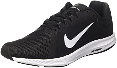 NIKE Mens Downshifter 8 Black White Anthracite Size 7