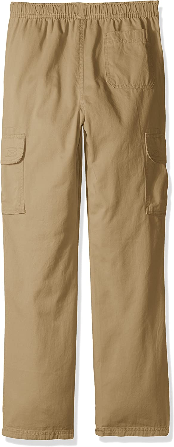 The Childrens Place Boys Big Pull-on Cargo Pant