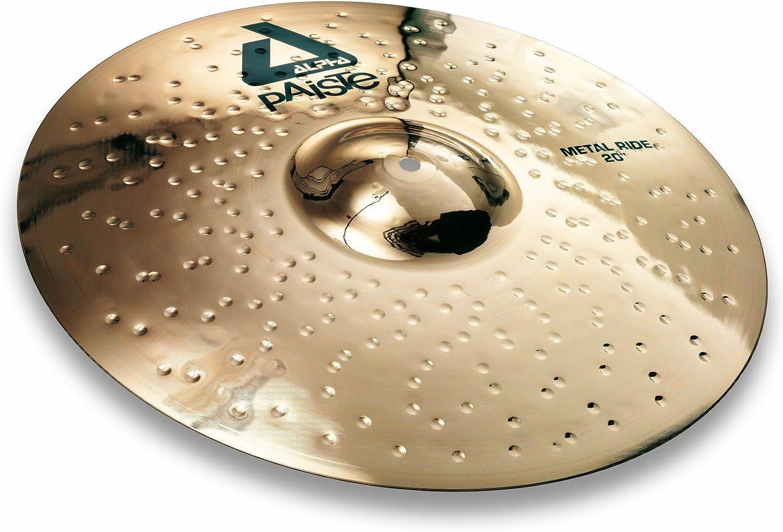 Paiste Alpha Brilliant Cymbal Metal Ride 20-inch