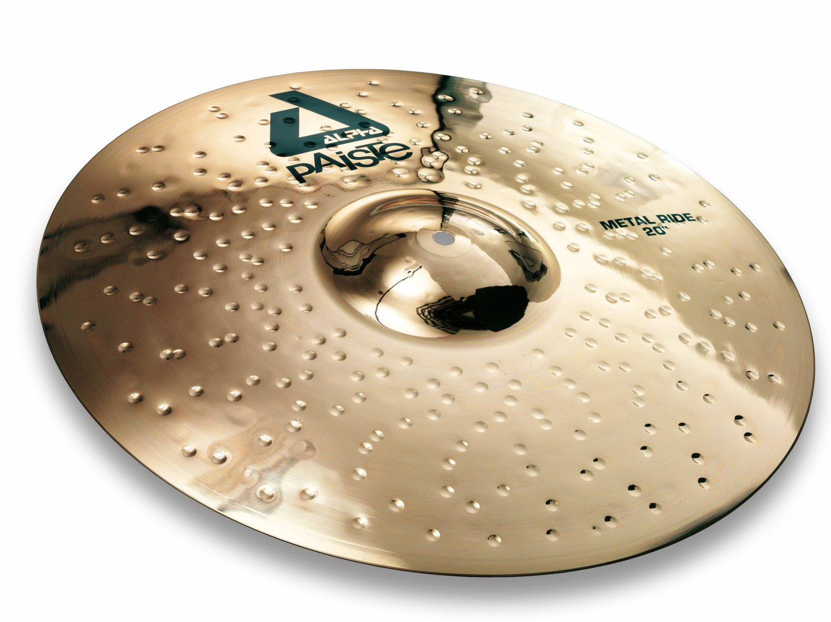 Paiste Alpha Brilliant Cymbal Metal Ride 20-inch by Paiste