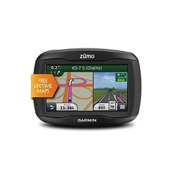 49d0ec0b999 Image Unavailable. Image not available for. Color: Garmin Zumo 390LM  4.3-Inch Motorcycle GPS Navigator